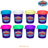 Набор из 8 банок пластилина Play-Doh Plus A1206 | minsktoys.by